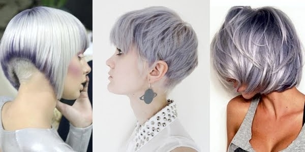 Silver Shades For Short Haircuts!!! – The Haircut Web In Most Recently Silver And Brown Pixie Hairstyles (View 15 of 25)
