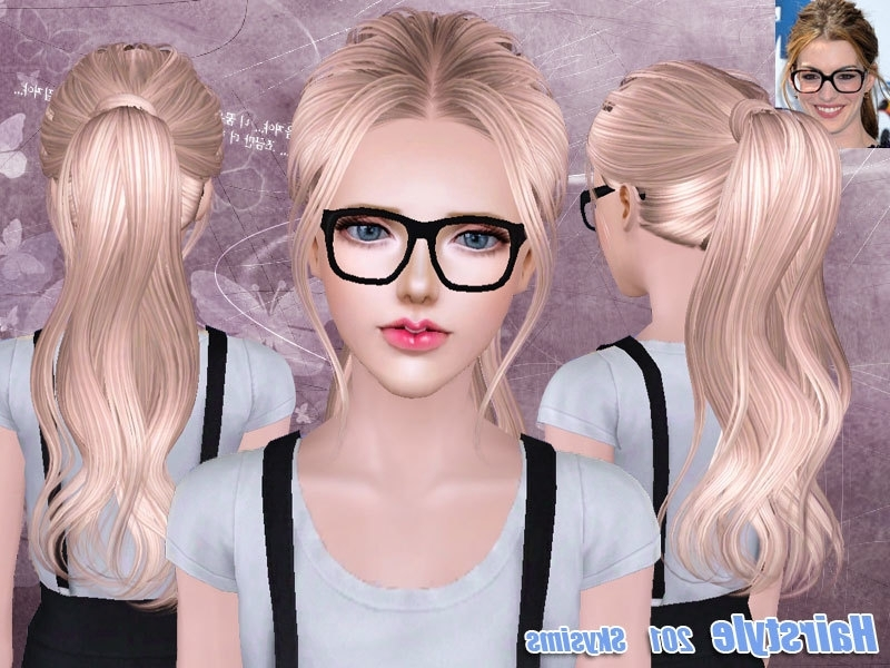 Skysims Hair 201 Inside Mod Ponytail Hairstyles (View 24 of 25)