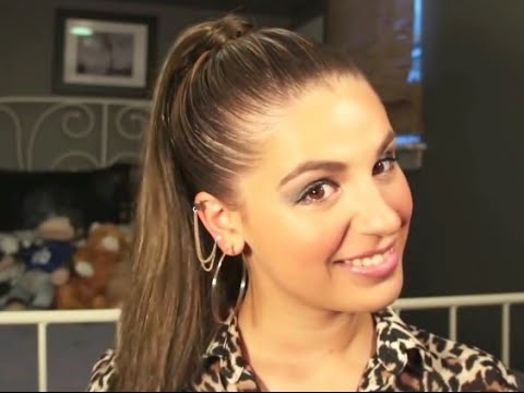 Sleek Ponytail For Short Hair – Youtube Inside Tight And Sleek Ponytail Hairstyles (View 11 of 25)