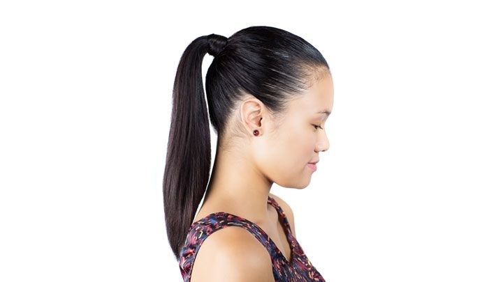 Sleek Ponytail Hair How To – Slicked Back Ponytail Look Intended For Super Sleek Ponytail Hairstyles (View 9 of 25)