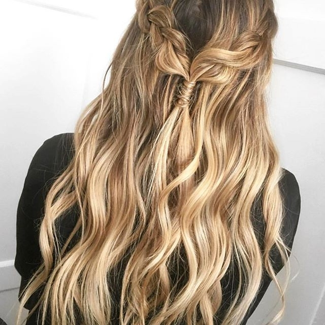 Soft Blonde, Honey Blonde, Warm Blonde, Long Layers, Hand Painted Throughout Honey Hued Beach Waves Blonde Hairstyles (View 5 of 25)