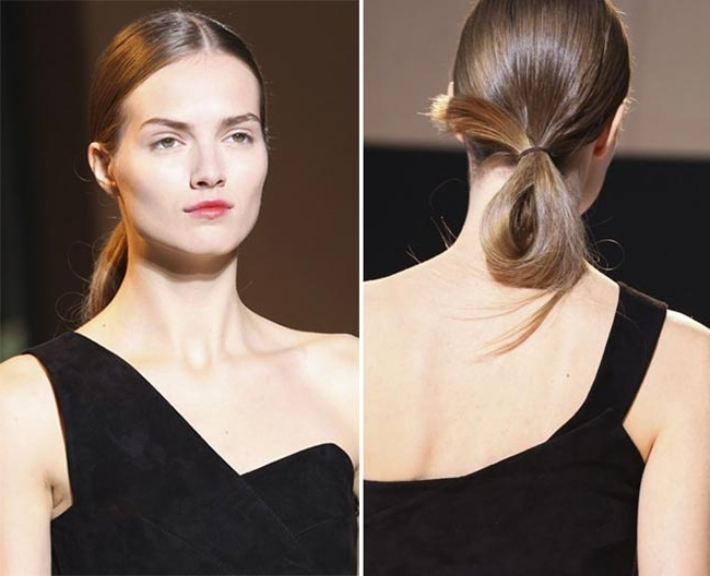 Spring/ Summer 2015 Trendy Ponytail Hairstyles | Fashionisers Inside Loose And Looped Ponytail Hairstyles (View 24 of 25)