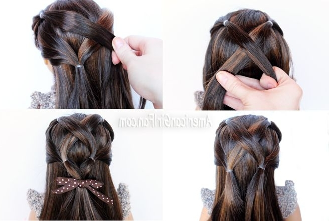 Featured Photo of The Criss Cross Ponytail Hairstyles