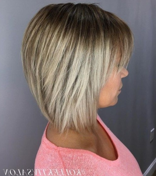 Straight Bronde Bob With Bangs | Hair, Make Up, Skin Care With Regard To Bronde Bob With Highlighted Bangs (View 25 of 25)