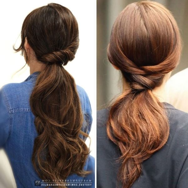 Straight Hairstyles Vpfashion With Regard To Lively And Lovely Low Ponytail Hairstyles (View 24 of 25)