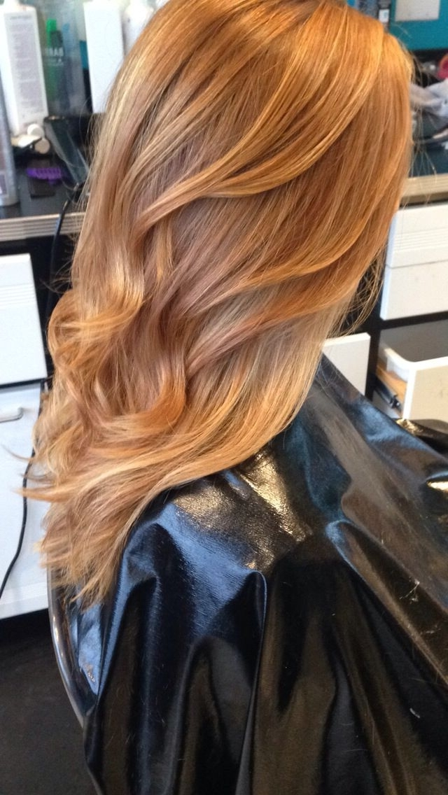 Strawberry Blonde Balayage | Hair | Pinterest | Strawberry Blonde For Golden Bronze Blonde Hairstyles (View 21 of 25)