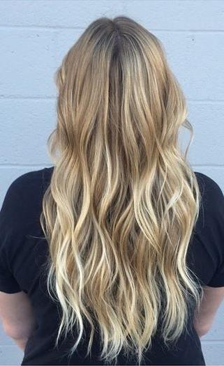 Subtle Blonde Ombre Highlights | Hair | Pinterest | Ombre Highlights With Subtle Blonde Ombre (View 2 of 25)