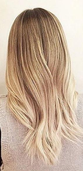 Subtle Blonde Ombre – Mane Interest Regarding Subtle Blonde Ombre (View 6 of 25)