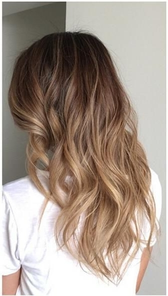 Subtle Brunette Ombre Highlights – Sombre | Dyed Hair | Pinterest For Subtle Blonde Ombre (View 10 of 25)