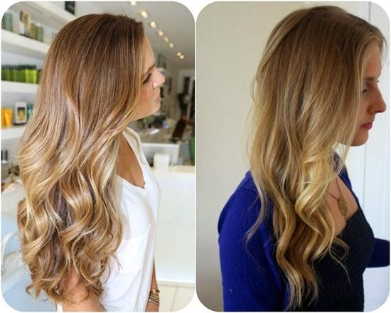 Subtle Ombre Blonde Hair Colors For Long Wavy Looks | Medium Hair For Subtle Blonde Ombre (View 19 of 25)