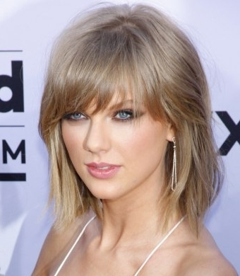 Taylor Swift's Bob Hairstyle Intended For Dirty Blonde Bob Hairstyles (View 23 of 25)