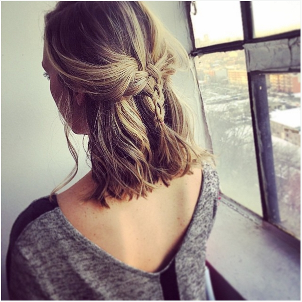 The 10 Best Braided Hairstyles For Shorter Hair – Hair World Magazine In Brunette Macrame Braid Hairstyles (View 6 of 25)