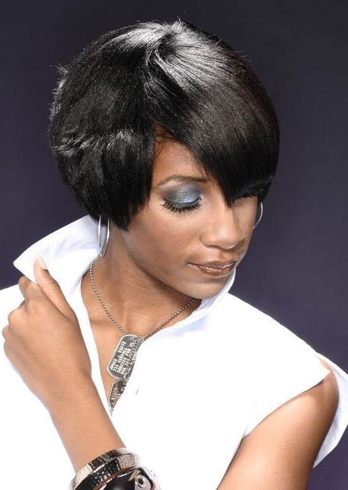 The 80 Most Beautiful African American Short Hairstyles – Hairstyle Regarding Most Current African American Messy Ashy Pixie Hairstyles (View 10 of 25)