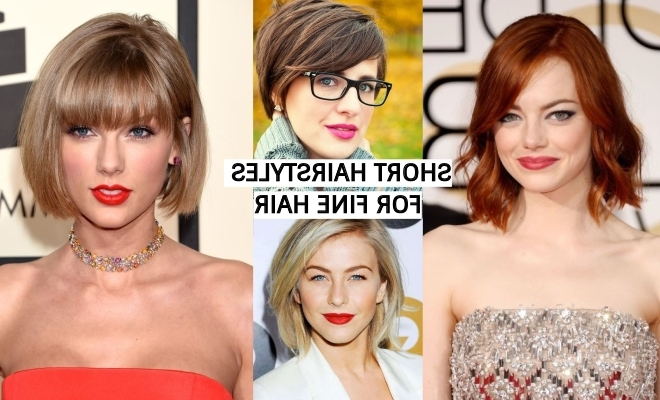 The Best 33 Short Hairstyles For Fine Hair – Superhit Ideas In Recent Sassy Pixie Hairstyles For Fine Hair (View 15 of 25)