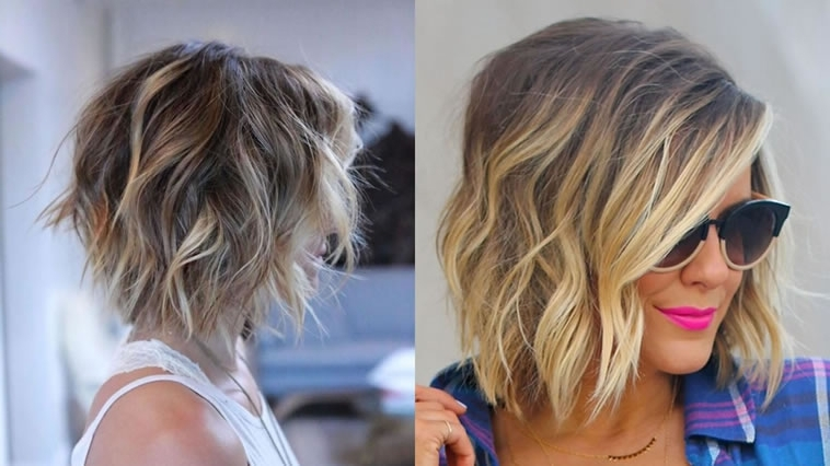 The Best 50 Balayage Bob Hairstyles (Short+Long) & Highlights Regarding Latest Shaggy Pixie Hairstyles With Balayage Highlights (View 15 of 25)