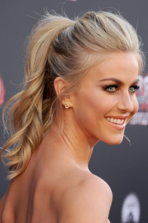The Best Ash Blonde Hair In Hollywood In 2018 | Beauty & Hair Regarding Bold And Blonde High Ponytail Hairstyles (View 25 of 25)