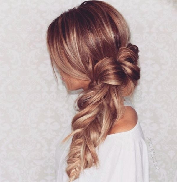 The Best Braids For Long Hair Boss Babes – Wonder Forest Inside Messy Volumized Fishtail Hairstyles (View 14 of 25)