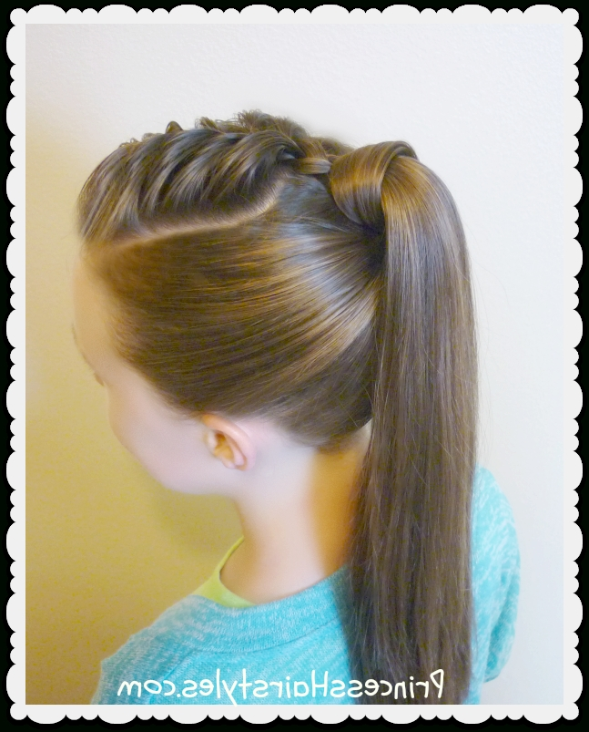 The Best Hair Wrapped Ponytail Tutorial – Hairstyles For Girls In Princess Ponytail Hairstyles (View 5 of 25)