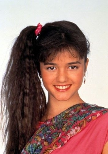 The Best Hairstyles From 80S Tv Shows   Cool!   Pinterest   Side Intended For Crimped Pony Look Ponytail Hairstyles (View 18 of 25)
