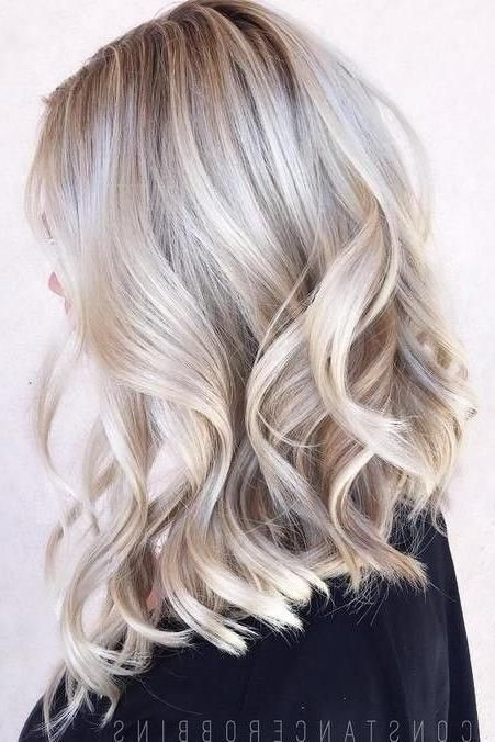 The Biggest Hair Color Trends For 2018 | Hair (Inspiration For Pearl Blonde Highlights (View 7 of 25)