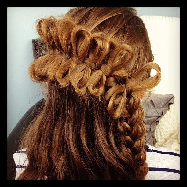 The Bow Braid | Cute Braided Hairstyles | Cute Girls Hairstyles For Bow Braid Ponytail Hairstyles (View 22 of 25)