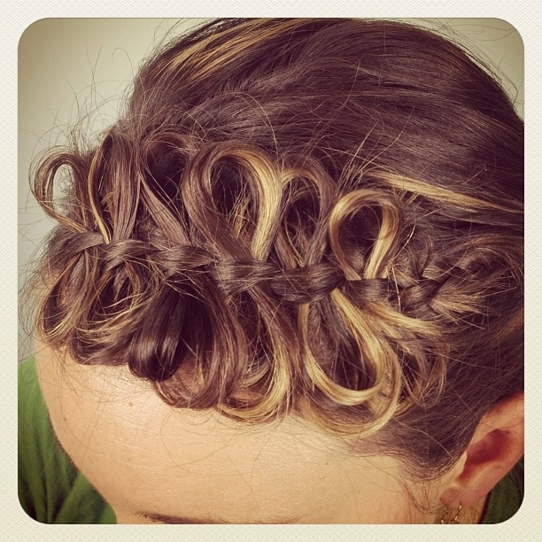 The Bow Braid | Cute Braided Hairstyles | Cute Girls Hairstyles With Regard To Bow Braid Ponytail Hairstyles (View 21 of 25)