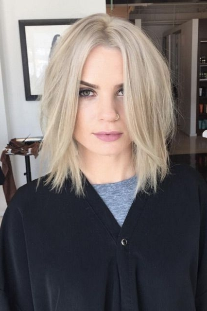 The Coolest Haircuts You're About To See Everywhere | California With Regard To Choppy Cut Blonde Hairstyles With Bright Frame (View 16 of 25)