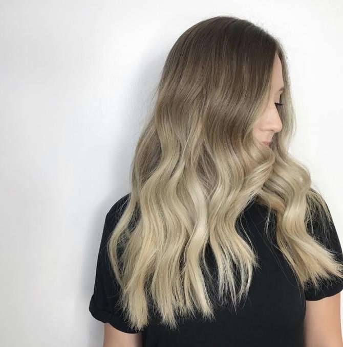 The Difference Between Ombre And Balayage | Style Lounge Salon Pertaining To Dishwater Waves Blonde Hairstyles (View 20 of 25)