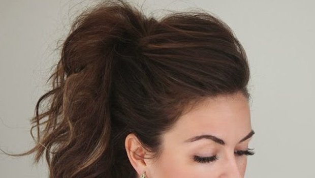 The Double Ponytail Hair Trick In Double Tied Pony Hairstyles (View 22 of 25)