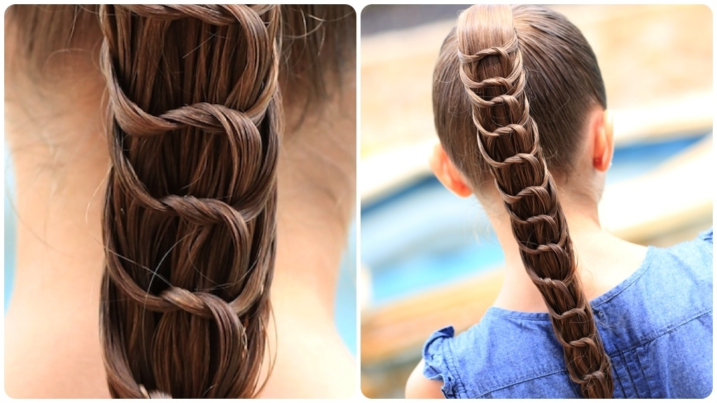 The Knotted Ponytail | Hairstyles For Girls | Cute Girls Hairstyles Intended For Knotted Ponytail Hairstyles (View 2 of 25)