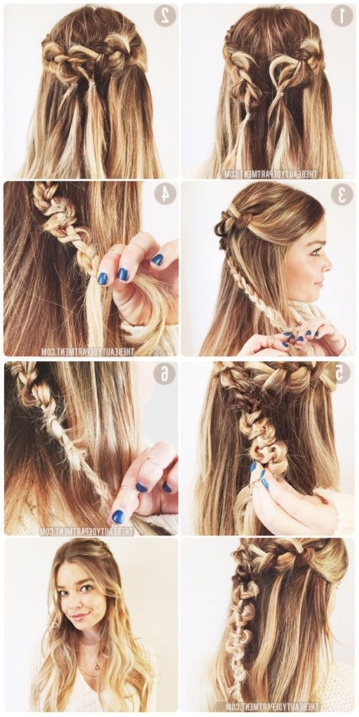 The Macrame Braid | Hair | Pinterest | Beauty Department, Braid With Regard To Macrame Braid Hairstyles (View 4 of 25)