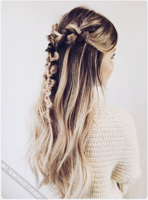 The Macrame Braid | Hair Style, Hair Goals And Hair Makeup With Brunette Macrame Braid Hairstyles (View 4 of 25)