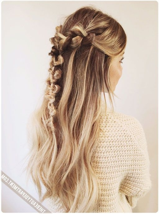The Macrame Braid | Ribbons & Curls | Pinterest | Beauty Department In Macrame Braid Hairstyles (View 3 of 25)