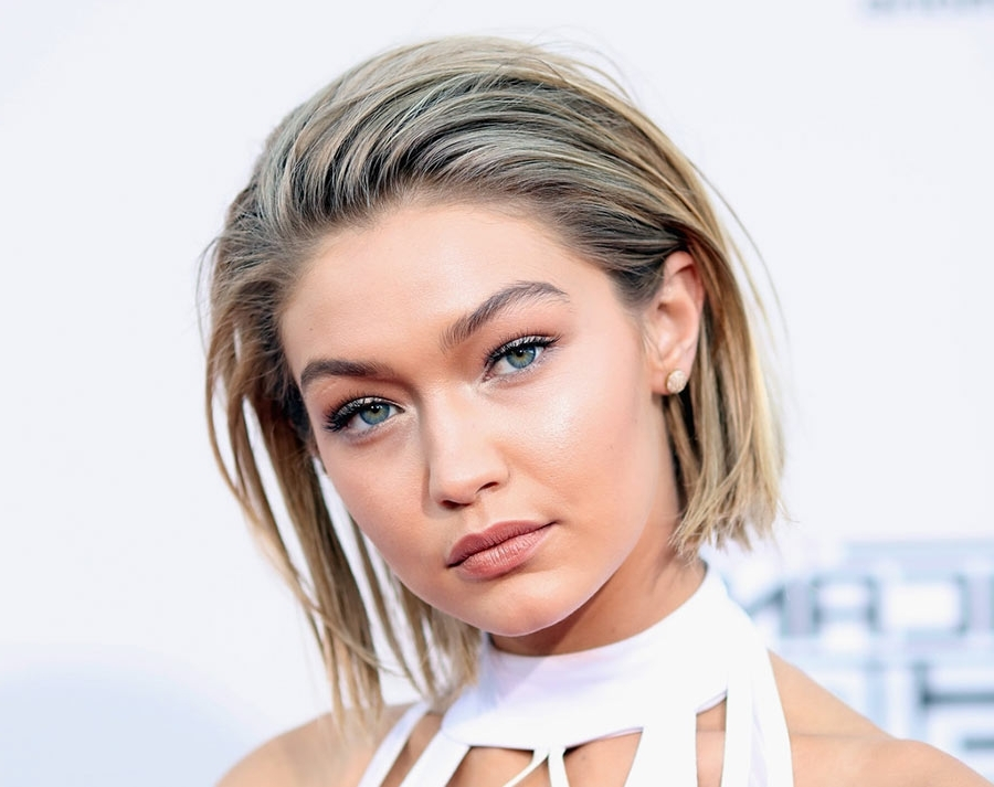 The Secret Behind Gigi Hadid's 'short' Hairstyle | Fashionisers Intended For Gigi Hadid Inspired Ponytail Hairstyles (View 20 of 25)