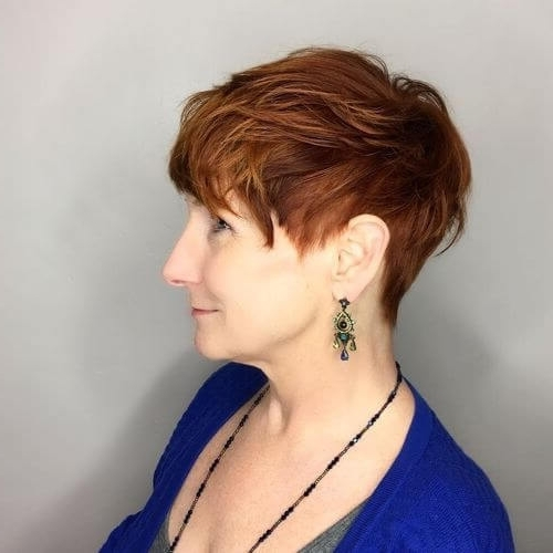 The Short Pixie Cut – 39 Great Haircuts You'll See For 2018 With Most Up To Date Tousled Pixie Hairstyles With Undercut (View 9 of 25)