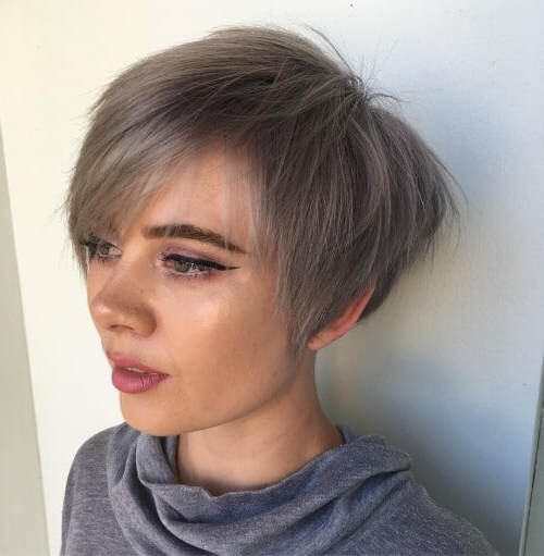 The Short Pixie Cut – 39 Great Haircuts You'll See For 2018 With Regard To Most Current Pixie Bob Hairstyles With Temple Undercut (View 17 of 25)