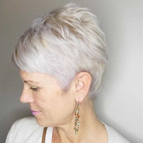 The Short Pixie Cut – 39 Great Haircuts You'll See For 2018 Within Most Current Reverse Gray Ombre Pixie Hairstyles For Short Hair (View 18 of 25)
