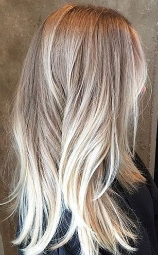 The Ultimate 2016 Hair Color Trends Guide | Hairstyle | Pinterest Throughout Pale Blonde Balayage Hairstyles (View 8 of 25)