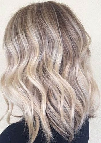 The Ultimate 2016 Hair Color Trends Guide In 2018 | Hair, Hair Pertaining To Ash Blonde Lob With Subtle Waves (View 22 of 25)