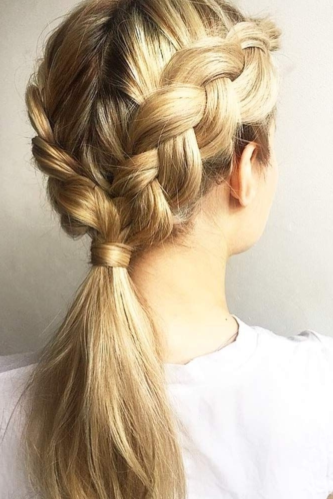 There Are Millions Of Options For What To Do With A Ponytail Braid For Rockstar Fishtail Hairstyles (View 17 of 25)