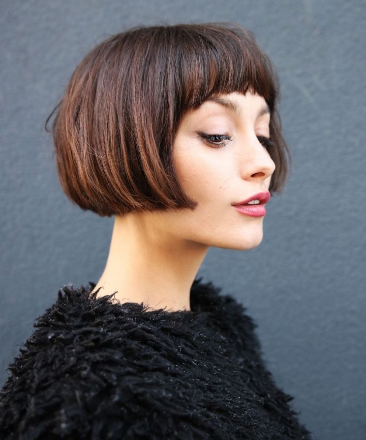 These Will Be Huge This Year Regarding 2018 Cropped Tousled Waves And Side Bangs Hairstyles (View 23 of 25)