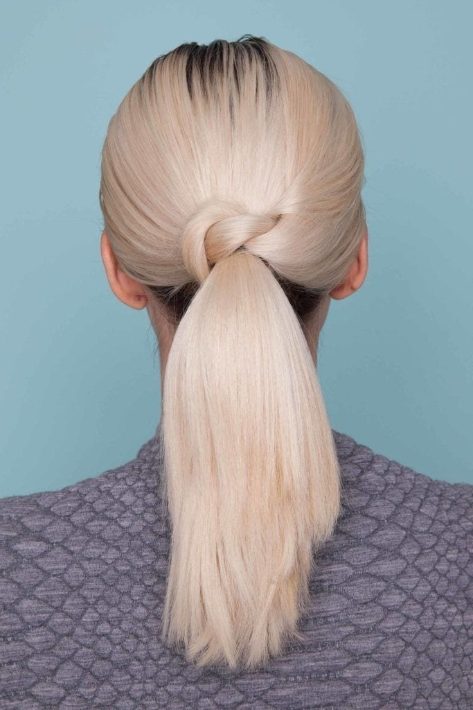 Thick Hair Ponytail Hairstyle Ideas And Inspiration For Valentine's Day Regarding Bubbly Blonde Pony Hairstyles (View 20 of 25)