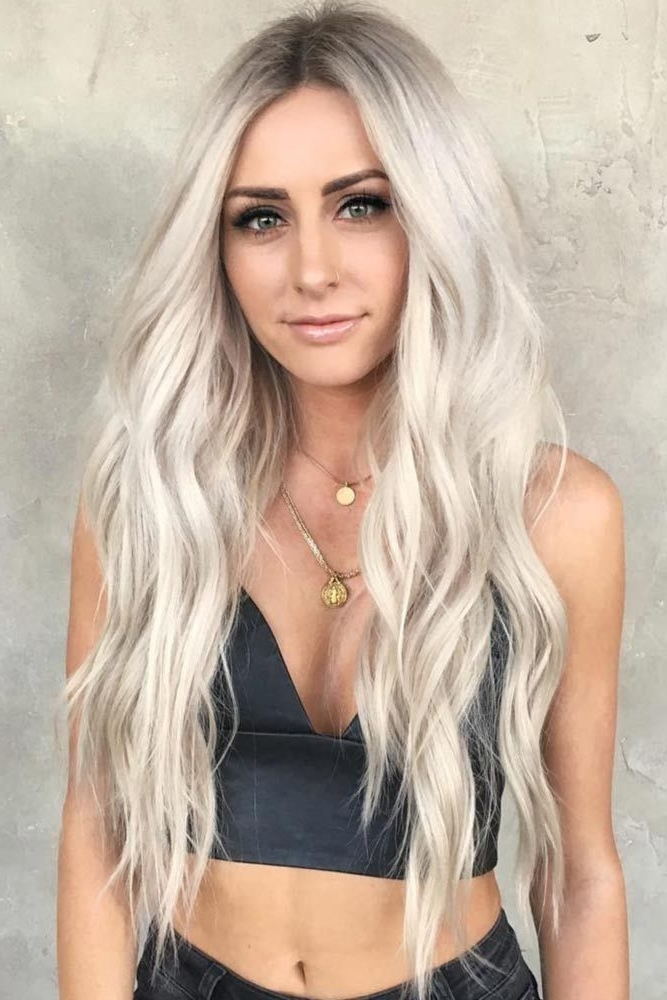 Things You Should Know About Platinum Blonde | Locks | Pinterest Throughout Long Platinum Locks Blonde Hairstyles (View 2 of 25)