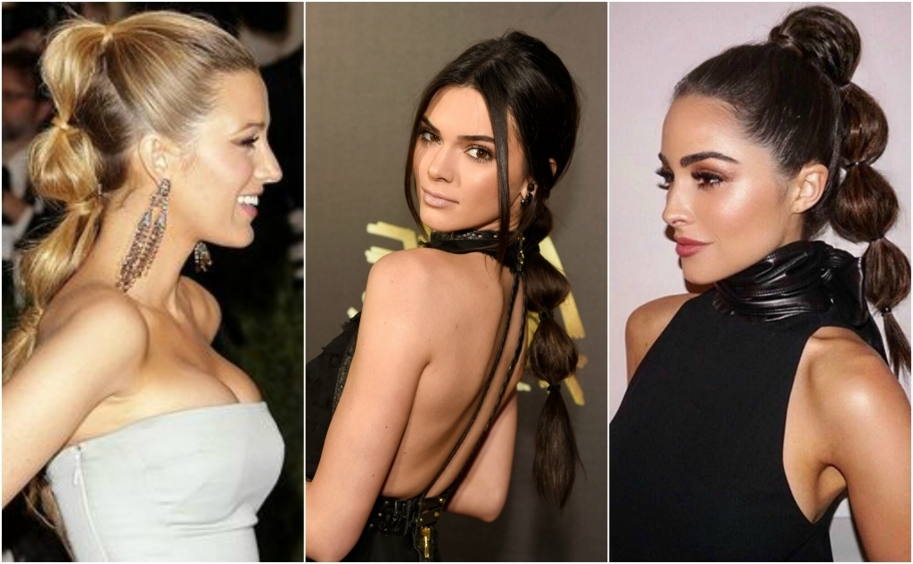 Throwback Thursday: Double Bubble Ponytail   Locks & Mane In Sleek Bubble Ponytail Hairstyles (View 9 of 25)