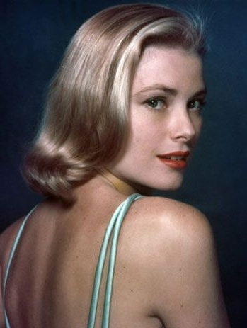 Today We Celebrate The Birthday Of Grace Kelly, Princess Grace Of Throughout Porcelain Princess Karate Chop Blonde Hairstyles (View 5 of 25)