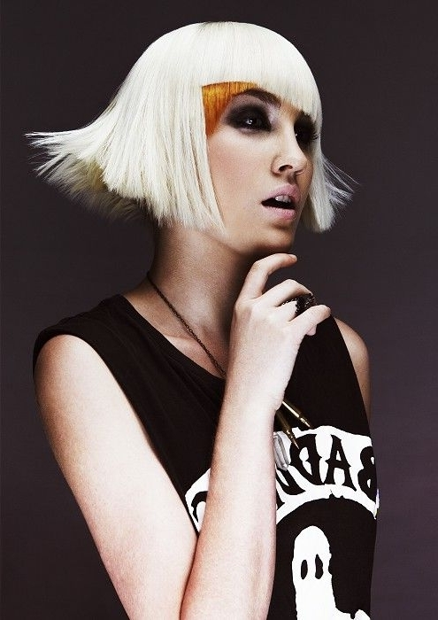 Toni&guy – Medium Blonde Straight Hair Styles (22021) | Hair Styles Inside Poker Straight Cool Blonde Style (View 16 of 25)