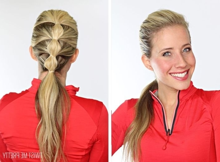 Top 10 Fashionable Ponytail Hairstyles For Summer 2018 | Styles Weekly Inside Stylish Low Pony Hairstyles With Bump (View 15 of 25)