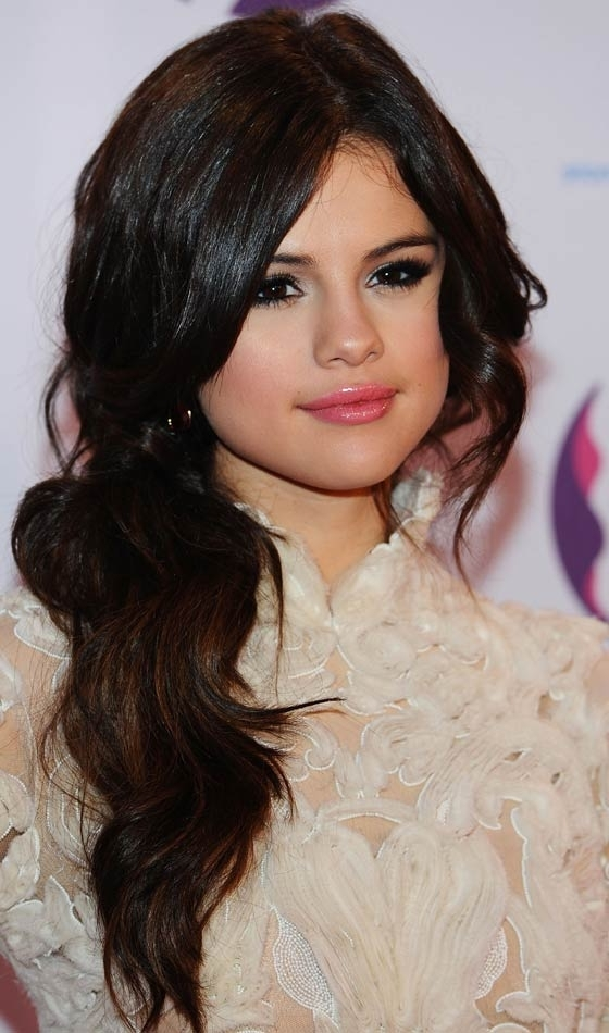 Top 10 Selena Gomez Hairstyles That You Can Try Out Too In Princess Ponytail Hairstyles (View 24 of 25)