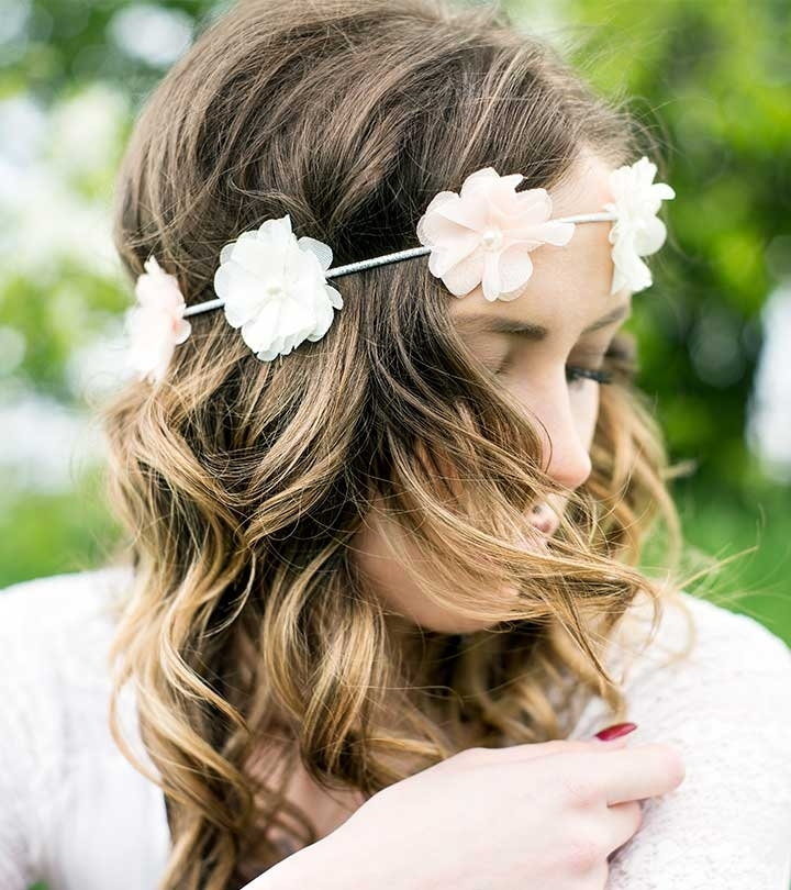 Top 20 Hair Accessories To Try Regarding Classy Flower Studded Pony Hairstyles (View 24 of 25)
