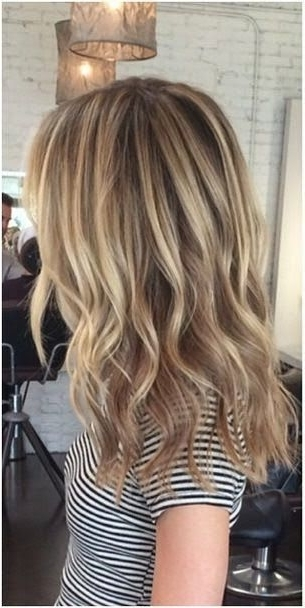 Top 2015 Trends In Haircolor & Hairstyles In 2018 | Dark Blonde With Cool Dirty Blonde Balayage Hairstyles (View 24 of 25)